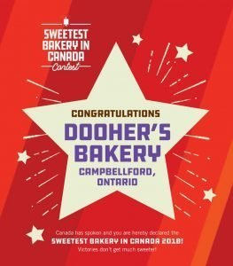 Sweetest Bakery In Canada Contest